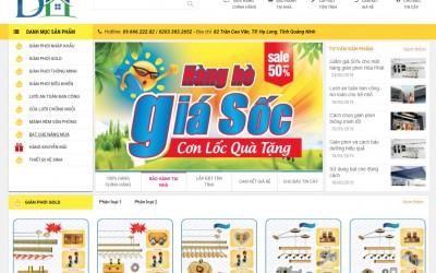 EDA - Giao diện shop sản phẩm Giàn phơi