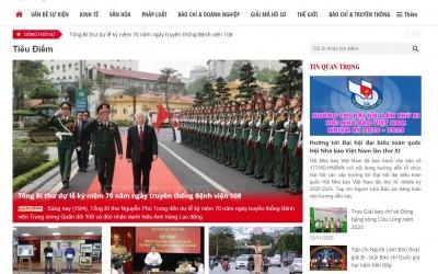 Website tin tức tổng hợp